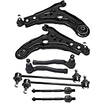 Sway Bar Link, Tie Rod End And Control Arm Kit