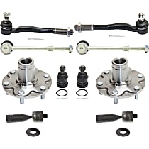 Ball Joint, Tie Rod End, Wheel Hub and Sway Bar Link Kit
