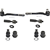 Control Arm Bushing, Tie Rod End and Ball Joint Kit