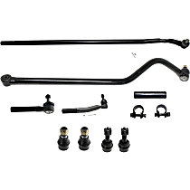 Replacement Track Bar, Ball Joint, Tie Rod End and Tie Rod Adjusting Sleeve Kit