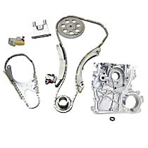 Replacement Timing Chain Kit and Timing Cover
