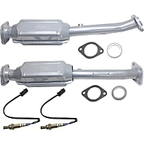 Catalytic Converter with Oxygen Sensor Rear Driver and Passenger Side, For Models with 4.0L Eng 46-State Legal (Cannot ship to CA, CO, NY or ME)