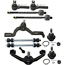 Control Arm, Ball Joint, Sway Bar Link and Tie Rod End Kit