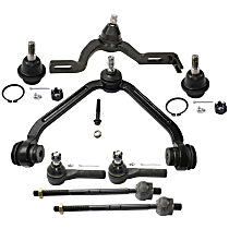Control Arm, Ball Joint and Tie Rod End Kit