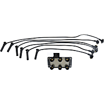 Replacement Spark Plug Wire and Ignition Coil Kit