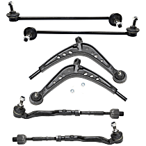 Control Arm, Tie Rod Assembly and Sway Bar Link Kit