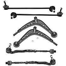 Replacement Tie Rod Assembly, Control Arm and Sway Bar Link Kit