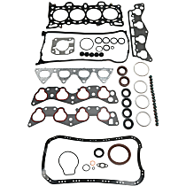 Replacement KIT1-091615-01-C Engine Gasket Set - Cylinder head and conversion, Direct Fit, Kit