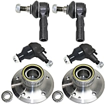 Ball Joint, Tie Rod End and Wheel Hub Kit