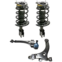 Shock Absorber and Strut Assembly and Control Arm Kit