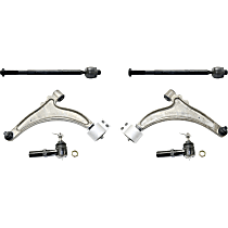 Control Arm and Tie Rod End Kit Front Driver and Passenger Side
