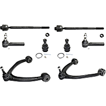 Replacement Control Arm, Ball Joint and Tie Rod End Kit