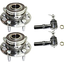 Tie Rod End and Wheel Hub Kit