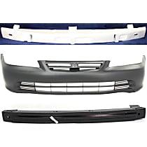 Bumper Absorber, Bumper Reinforcement and Bumper Cover Kit - OE Replacement, Sedan
