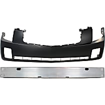 Bumper Cover and Bumper Reinforcement Kit - OE Replacement, Aluminum