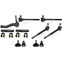 Idler Arm, Ball Joint, Tie Rod Adjusting Sleeve and Tie Rod End Kit