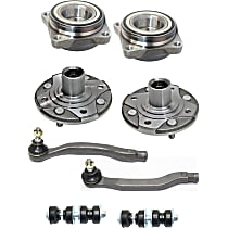 Sway Bar Link, Tie Rod End And Wheel Hub Kit