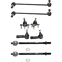 Sway Bar Link, Tie Rod End and Ball Joint Kit
