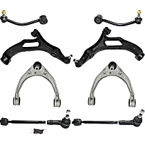 Replacement Control Arm, Tie Rod Assembly and Sway Bar Link Kit