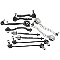 Control Arm, Tie Rod End and Sway Bar Link Kit
