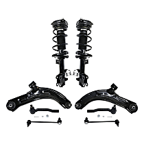 Control Arm, Shock Absorber and Strut Assembly, Tie Rod End and Sway Bar Link Kit