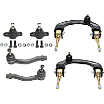 Control Arm, Tie Rod End and Ball Joint Kit