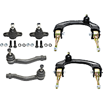 Replacement Control Arm, Tie Rod End and Ball Joint Kit