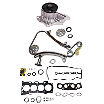 Replacement Timing Chain Kit, Head Gasket Set and Water Pump Kit