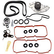 Replacement Timing Belt Kit, Valve Cover Gasket, Hydraulic Timing Belt Actuator and Water Pump Kit