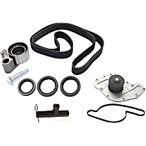 Replacement Timing Belt Kit, Hydraulic Timing Belt Actuator and Water Pump Kit
