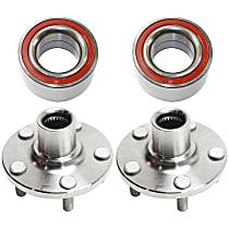 Replacement Wheel Hub and Wheel Bearing Kit