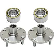 Replacement Wheel Bearing and Wheel Hub Kit