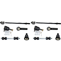 Replacement Ball Joint, Sway Bar Link and Tie Rod End Kit