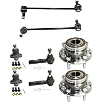 Sway Bar Link, Wheel Hub, Tie Rod End And Ball Joint Kit