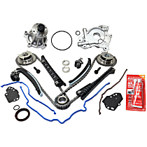 Replacement Timing Chain Kit, Oil Pump and Water Pump Kit