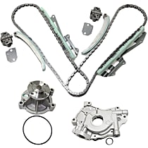 Replacement Timing Chain Kit, Water Pump and Oil Pump Kit