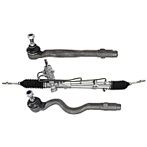 Replacement Steering Rack and Tie Rod End Kit