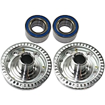 Wheel Bearing - Front, Driver or Passenger Side, Set of 2