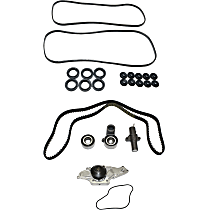 Replacement Valve Cover Gasket, Water Pump and Timing Belt Kit