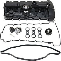 Drive Belt, Timing Belt Idler Pulley, Timing Belt Tensioner and Valve Cover Kit