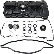 Replacement Valve Cover, Timing Belt Idler Pulley, Timing Belt Tensioner and Drive Belt Kit