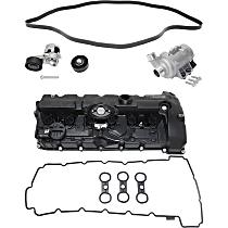 Valve Cover, Water Pump, Timing Belt Idler Pulley, Timing Belt Tensioner and Drive Belt Kit