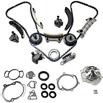 Replacement Timing Cover Gasket, Timing Chain Kit and Water Pump Kit