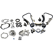Timing Chain Kit, Timing Cover Gasket, Water Pump and Oil Pump Kit