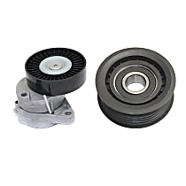 Replacement KIT1-101415-10-A Accessory Belt Idler Pulley - Direct Fit, Set of 2
