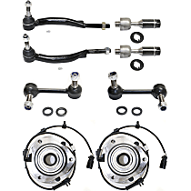 Sway Bar Link, Wheel Hub And Tie Rod End Kit