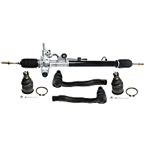 Replacement Steering Rack, Ball Joint and Tie Rod End Kit