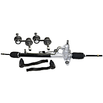 Replacement Steering Rack, Tie Rod End and Sway Bar Link Kit
