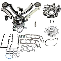 Head Gasket Set, Oil Pump, Timing Chain Kit, Water Pump and Valve Lifter Kit