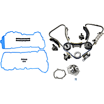Replacement Valve Cover Gasket, Timing Chain Kit and Water Pump Kit